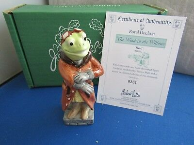 Toad  Beswick The Wind In The Willows  Wiw 2 Limited Edition   Royal Doulton