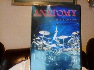 Neil Peart Anatomy Of Drum Solo 2 Dvds Drum Instruction Hudson New