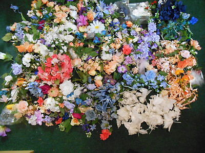 Loose silk flowers gallery flower decoration ideas huge lot of loose silk flowers a massive collection pink hibiscus silk flowers loose variety white mightylinksfo Gallery