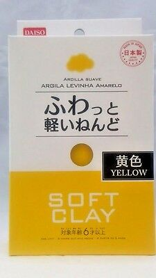 DAISO JAPAN DIY Soft Clay YELLOW Made in   JAPAN  F/Shipping
