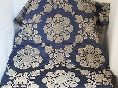 Antique Fortuny Style Large Fabric Panel