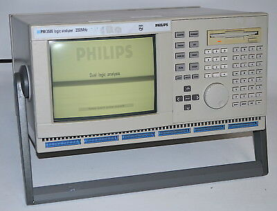Philips / Fluke PM3585/90 Logic Analyzer with Probes & Manuals *Used*