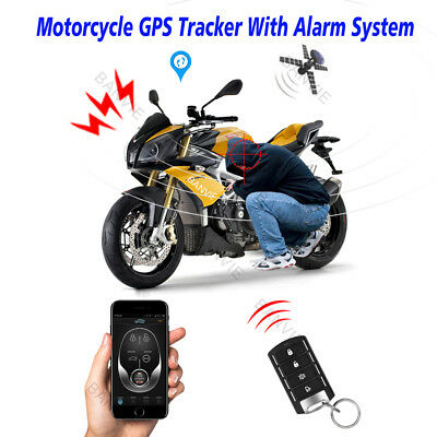 2 in 1 Motorcycle GPS Tracker & 1-Way Alarm system with Android and Iphone APP