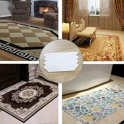8pcs Rug Grippers Premium Carpet Gripper Self-adhesive Pad for Carpet Furniture