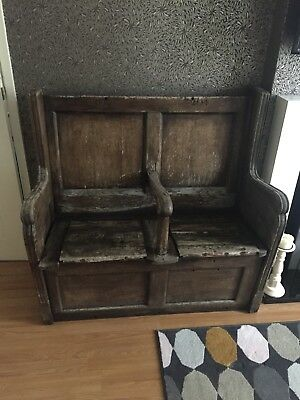 Very Old Church Pew