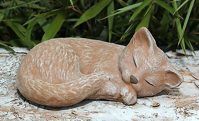 Sculpture En Pierre Chats Figure Statue D Ornement De Jardin Idees