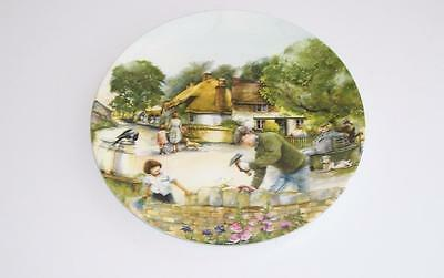 "Royal Doulton Collectors Old Country Crafts Plate.""The Dry-Stone Waller""."