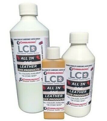 All in one leather dye colourant repair recolour dye stain  paint all colour.