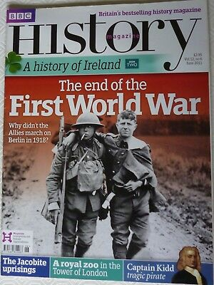 BBC History Magazine-June 2011-The End Of The First World War