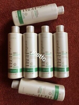 Avon~ADVANCE TECHNIQUES~Daily Shine~LEAVE IN CONDITIONER~x6 Lots STOCK UP!!