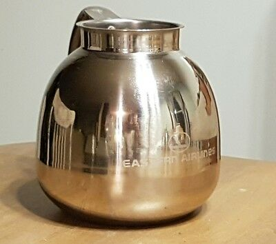Vintage Eastern Airlines Water Pitcher-Stainless-Serving