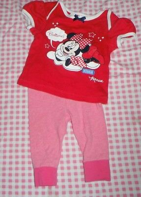 000 Minnie mouse Pj's Baby Girl