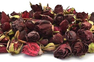 Red Rose Buds, Dried Flowers, Craft, Potpourri, Soap, Candle, Bath Bomb FREE P&P
