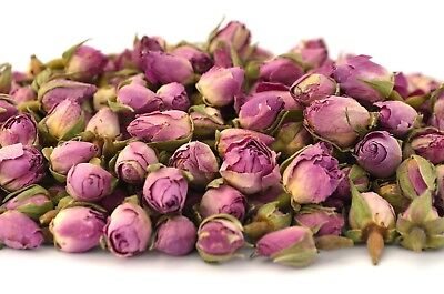 Pink Rose Buds, Dried Flowers, Craft, Potpourri, Soap, Candle Bath Bomb FREE P&P