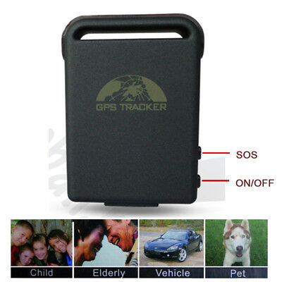 Mini Personal GPS tracker GSM GPRS Car Vehicle Tracker Real time Tracking Device