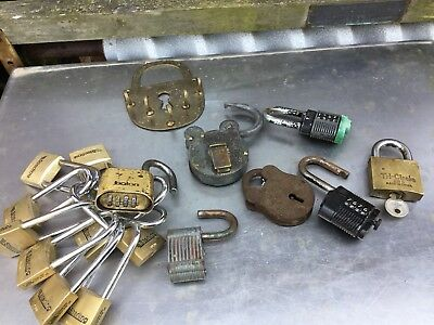 Job Lot Of Old Locks