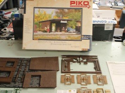 Piko G Scale Streitberg Passenger Shelter 62074 G Scale Model Building Kit