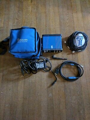 Intuicom RTK Bridge-C3 Transceiver with antenna and assorted chords
