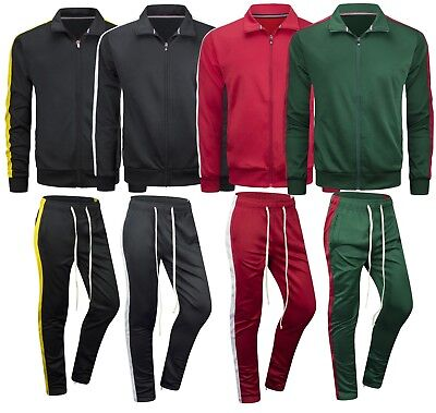 2b3a182dfec8 NEW Polo Ralph Lauren Mens Sweat Suit Athletic Zip Hoodie   Pants Set 6  COLORS.