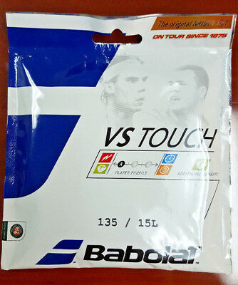 Babolat VS Touch Natural Gut 15 Gauge 1.35mm Tennis String Rafael Nadal
