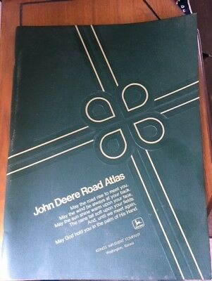 1974 John Deere / Rand McNally Atlas   Kongs Implement