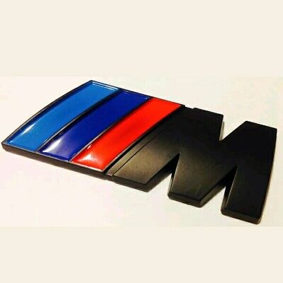 /// M Sport Emblem Black M Sticker Badge  BMW