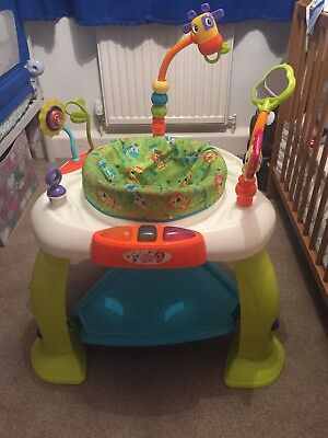 Baby Activity Centre Tripod 360 degree bouncing jungle musical fun! Fisher Price