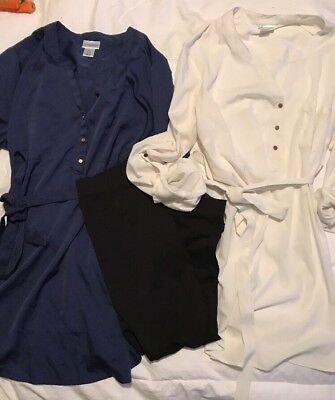 Motherhood maternity Lot Large Includes 2 Blouses And 1 Pair Of Capris
