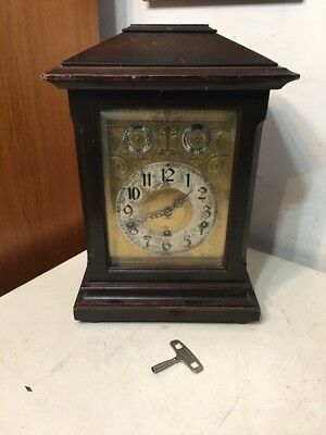 Antique Kienzle Westminster Chime Bracket Clock Parts Project
