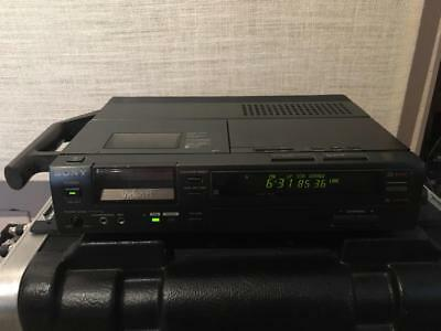 Sony EV-S1 8mm PCM stereo VCR with ten 120 minute tapes