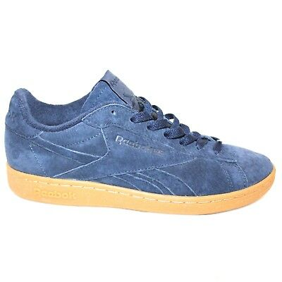 875c8cde09a Reebok Classic Men s 7 NPC UK GUM Casual Shoe BD5765 Suede Collegiate Navy  Blue