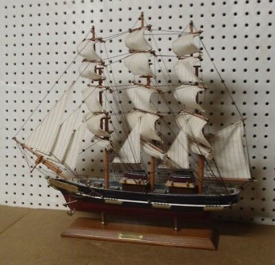 Vintage Wooden 1869 Cutty Sark Model Clipper Ship Maritime