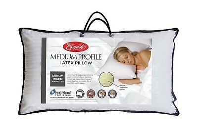 NEW Latex Medium Profile Pillow - Easy Rest,Pillows