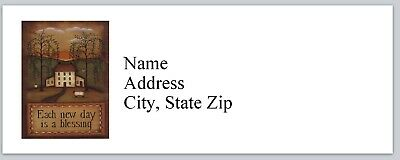 Personalized Address Labels Primitive Country Buy 3 get 1 free (bx 435)