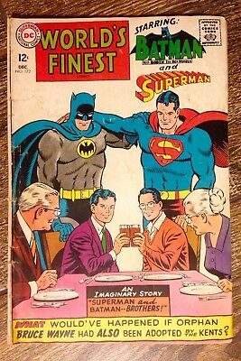 World's Finest Comics #172 (1967) 12 cent!  Batman and Superman! PRICED TO SELL!
