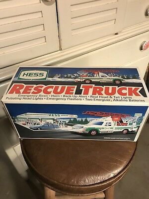 Vintage 1994 Hess Rescue Truck, NIB, Great Gift/Collectible!