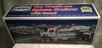 Hess 2014 Truck /  Space Cruiser  and Scout Paperwork. New In Box