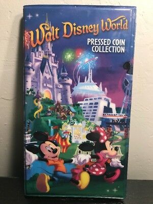 Disney Pressed Pennies With Collection Book