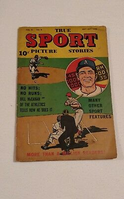 1948 True Sports Picture Stories Vol.4 No.9  * Look *
