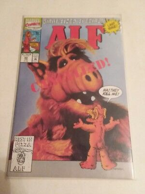 Alf -#50 - Final Issue - Classic Tv Show - Marvel - Free Shipping