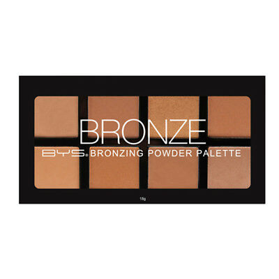 BYS Bronzing Powder 8pc Palette Eight Shimmer n Matte bronzers rich summer glow
