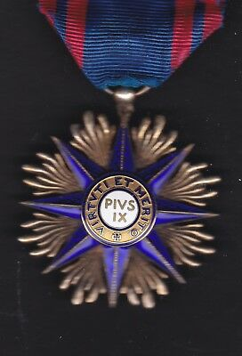 Italy, Order of Pope Pius 1X Grand Cross Commander level decoration medal