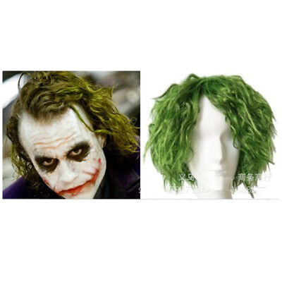 Joker Clown Batman Suicide Squad Perücke Haar Halloween Party Wig Cosplay Kostüm