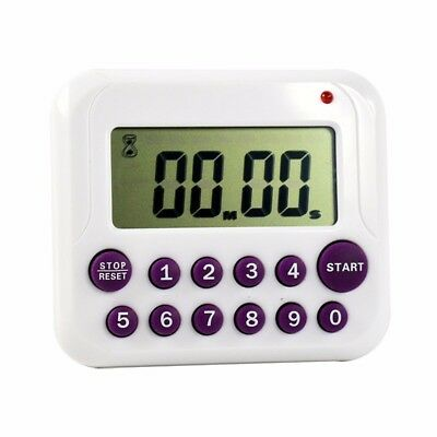 Timer Digital Large LCD Kitchen Cooking Count Down Up Clock 99 Minute Alarm