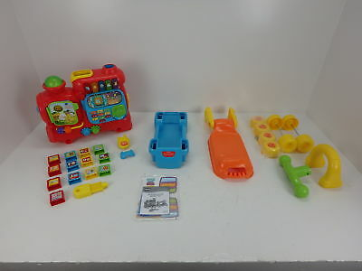 Vtech Sit To Stand Ultimate Alphabet Train 3199 Picclick