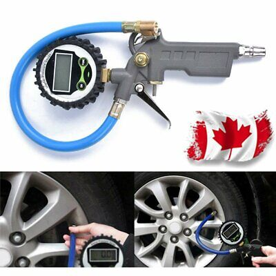Multifunctional Digital Car Truck Air Tire Pressure Inflator Gauge Tester Canada