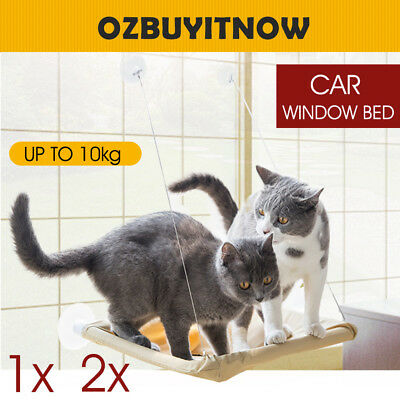 Cat Window Ped Bed Mounted Wall Home Hammock Cover Washable Sunny Comfortable AU