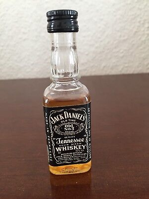 Jack Daniels PET Bourbon Whiskey Miniature, Mini Bottle