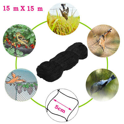 15M x 15M Anti Bird Netting For Bird/Poultry/ Aviary/ Games/ Pens Prote Veg Crop