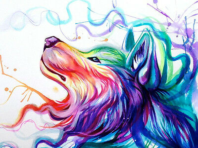 Diamond Painting Abstract painting Wolf DIY Cross Stitch 5D FOR Handwork